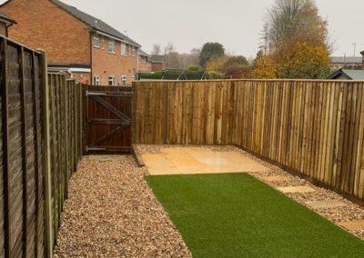 garden fencing in radstock(1)